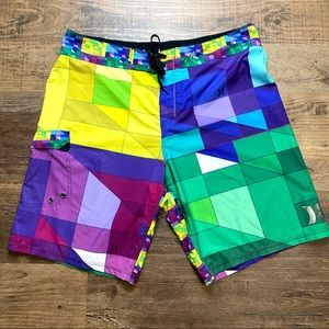 Men's Hurley Phantom Board Shorts 38